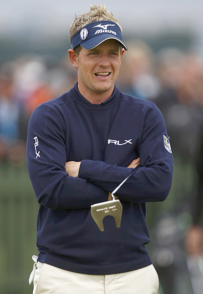 """Luke Donald is also riding high with confidence after three wins this season. """"This is the most consistent I've been, I think, throughout my whole game, not just around the greens but tee to green it's getting more and more solid, and I think that's been a key to me playing well and notching up some victories,"""" he said."""