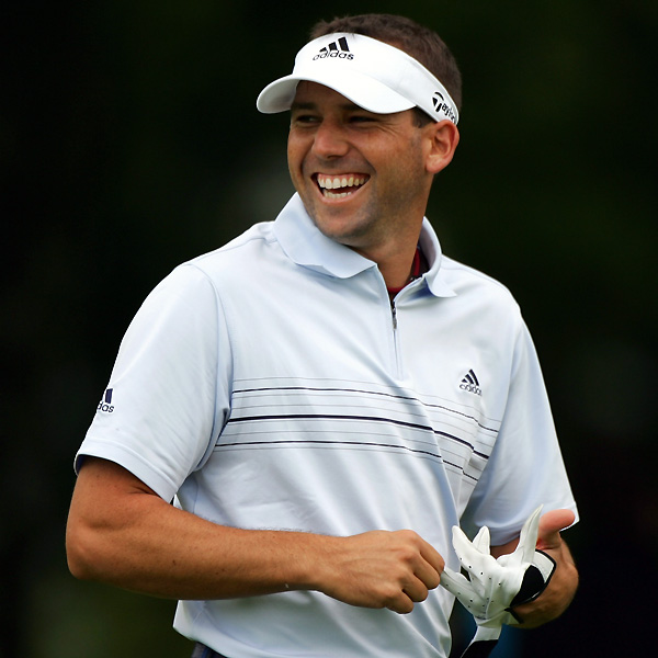 Sergio Garcia moved into contention with a six-under 65.