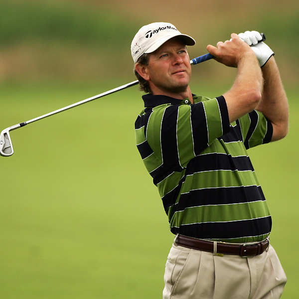Retief Goosen missed the cut after a two-over 73.