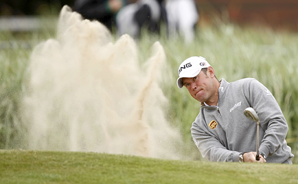 """Lee Westwood would like nothing more than to win his first major this week in his native England, and he's feeling confident heading into the Open. """"I'm happy with all aspects of my game,"""" he said."""