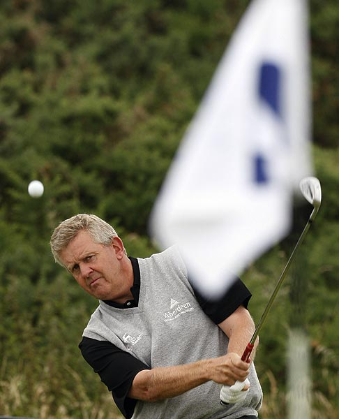Colin Montgomerie missed the cut at last year's Open Championship.