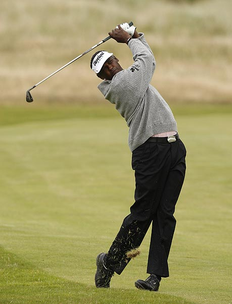 Vijay Singh, who finished T27 at last year's open, does not have any wins this season.