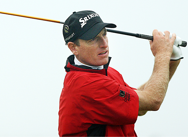 Jim Furyk will play his first round with Niclas Fasth and Nick Dougherty Thursday at 8:31 a.m. EST.