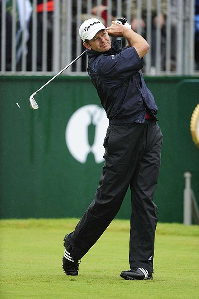 Retief Goosen shot a 1-over 71 in a round that included four birdies.