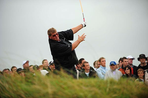 John Daly exploded on Friday shooting 89 to move to the very bottom of the leaderboard.