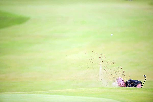 Daly's worst hole was the par-4 13th where he scored a nine.