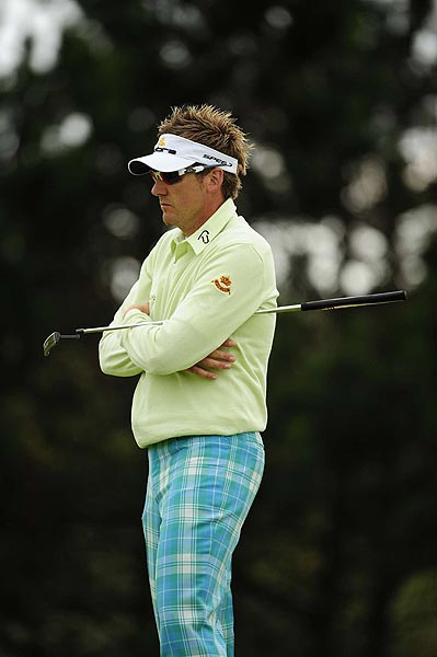 Ian Poulter shot a 1-over 71 to move to three over par.