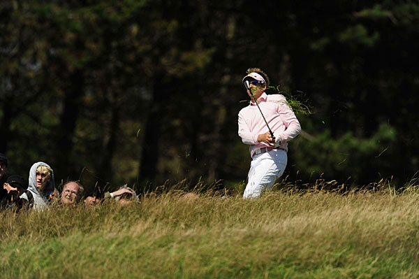 Ian Poulter is in contention at eight over. Fellow Englishmen Simon Wakefield (+5), Ross Fisher (+7) and Graeme Storm (+8) also have a shot.