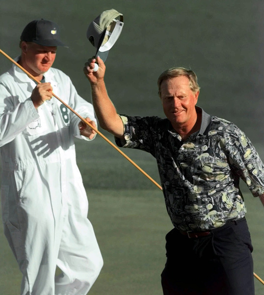 Jack Nicklaus, 58: Tied for sixth at the 1998 Masters.