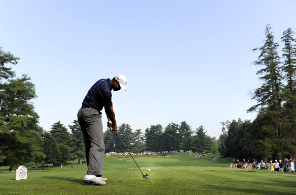 Woods is playing in his first event since the U.S. Open.More photo galleries of Tiger Woods