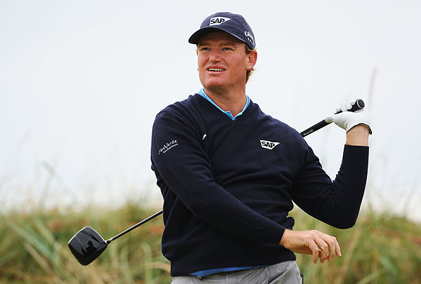Ernie Els hit only 53% of the fairways Friday, but he still managed to shoot a one-under 70 to leave himself at even par for the tournament.