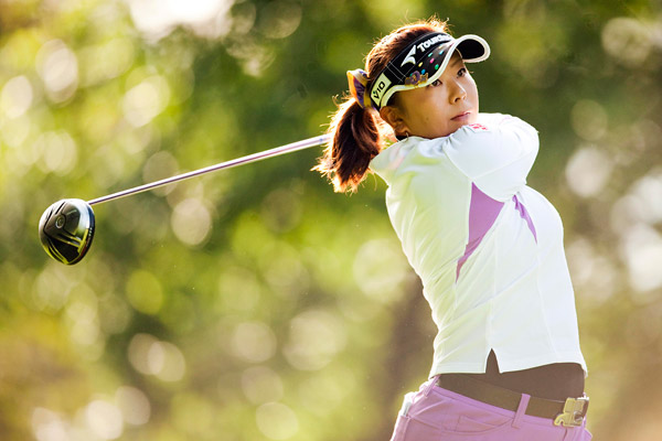 Miki Saiki has a one shot lead going into Saturday after carding a 67.