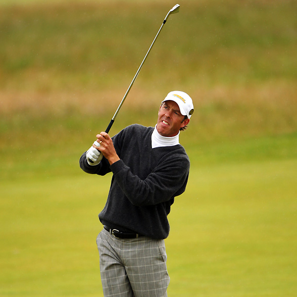 Australian Richard Green tied the course record at Carnoustie with a seven-under 64.