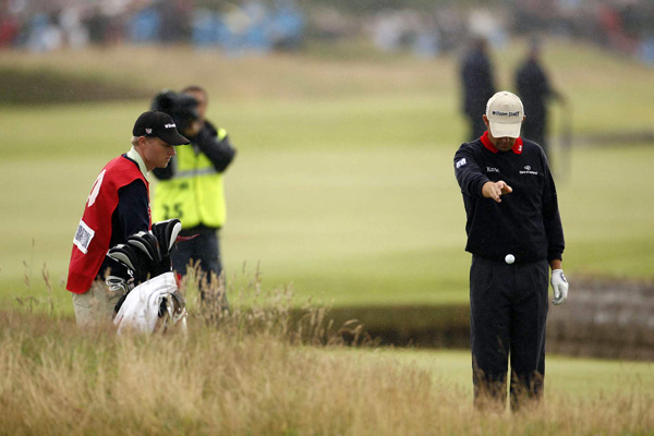 Top 10 British Open Moments                       By Paul Mahoney                                              1. Padraig Harrington's 72nd hole                       Harrington nearly outdid a certain Frenchman by finding the water twice, but he saved double bogey and won the playoff to redeem himself. Harrington's despair on the 18th green was broken by his son Paddy running out for a hug. If you didn't get a lump in your throat watching that scene, check your pulse.