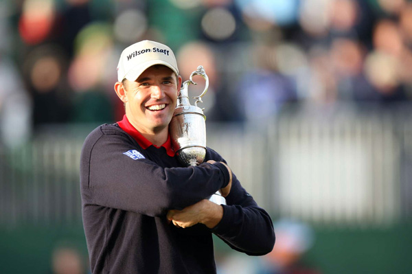 Luck of the Irish                                              Padraig Harrington made a testy three-footer for bogey and beat Sergio Garcia by one in a playoff for the 136th Open Championship.