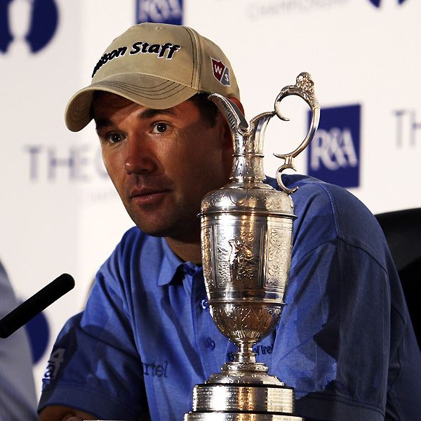10. Harrington's Sunday night press conference                       Angel Cabrera needed an interpreter for his press conference after the U.S. Open, and Harrington needed one on Sunday. The Irishman's squeaky Dublin accent makes him sound like he just took a pull off a helium balloon. His son Paddy sat on the stage and terrorized the poor R&A chap by playing with the claret jug and bending the microphones. Good lad, Paddy.