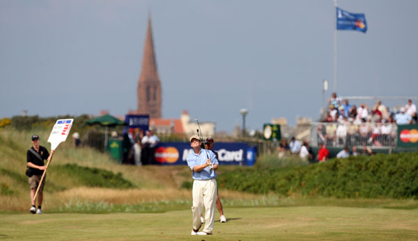 Tom Watson tied for fifth after a one-under 70.