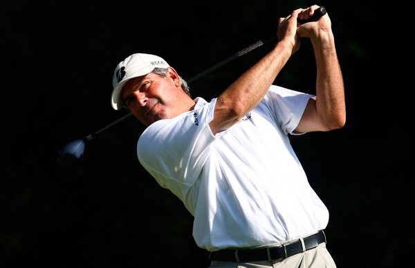 Fred Couples closed with two bogeys for a 72.