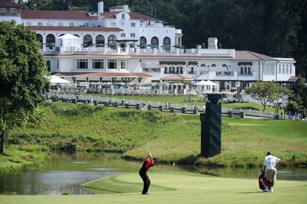 Jim Furyk is three shots back after a 67.