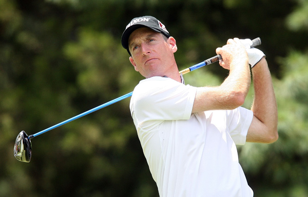 Jim Furyk is only two shots back after a 69.