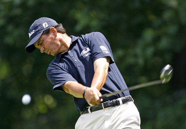 Tom Pernice Jr. also finished at nine under after a 63.