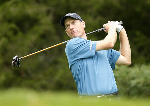Jim Furyk was also bogey-free in his final round. He finished at nine under par.