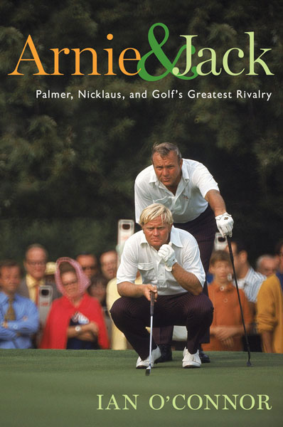 "Short and Sweet                                          Quick excerpts from two other golf titles that deserve a home on your shelf                                          Arnie and Jack: Palmer, Nicklaus, and Golf's Greatest Rivalry                      by Ian O'Connor                      $26, Houghton Mifflin                                          ""There was something about Palmer that Nicklaus could never lay a glove on...Arnie had the fans and wanted the trophies; Jack had the trophies and wanted the fans."""