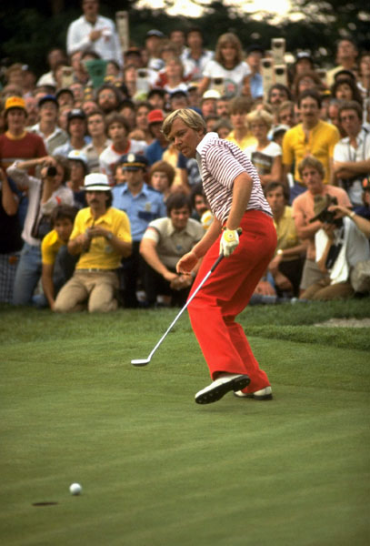 "Whose line is it anyway?                                              Here are four dandies from Great Golf Quotes.                                              ""One of these days I'm going to win this bitch of a tournament.""— John Mahaffey, after finishing 2nd and T4 in the 1975 and '76 U.S. Opens."