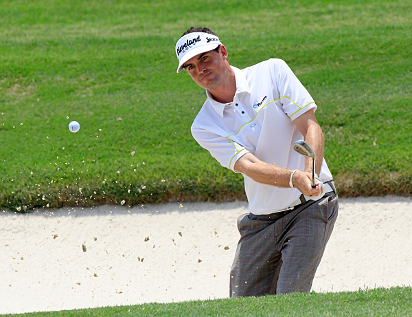Keegan Bradley was three over par on the front nine, but he rebounded with three birdies on the back nine.