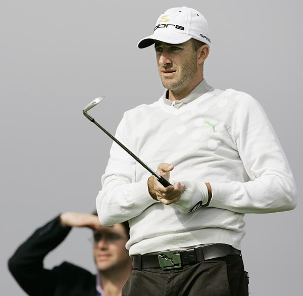 Geoff Ogilvy, the 2006 U.S. Open champion, also played a round on Wednesday.