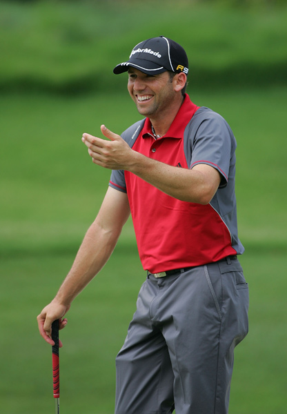 Sergio Garcia will miss the cut after rounds of 70-73.