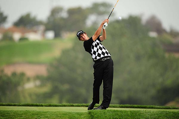 """""""I enjoy playing with Tiger,"""" Scott said. """"I find it a lot easier to focus because I think I've got to be a little more disciplined."""""""