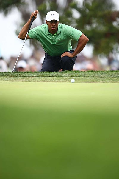 """""""All I can tell you is it's sore,"""" Woods said of his knee. """"It is what it is. Nothing more, nothing less."""""""