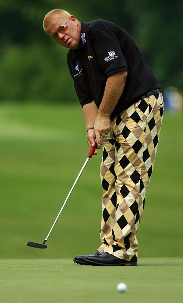 John Daly shot a one-over 71.