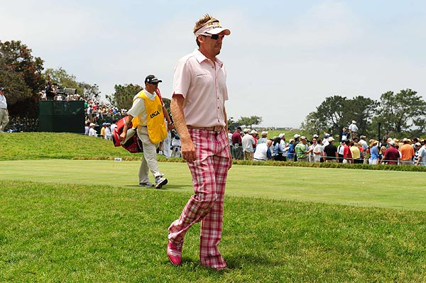 Poulter made par on the 13th hole but double bogeyed the 14th and 15th before withdrawing due to an undisclosed injury. Read more about Poulter's meltdown and exit.