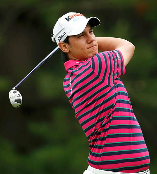 is only 18 but has already won twice on the European Tour.