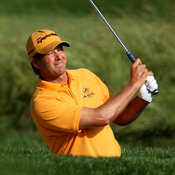 Retief Goosen, the 2001 and 2004 U.S. Open champ, made double bogeys on 10 and 18 to shoot 76.