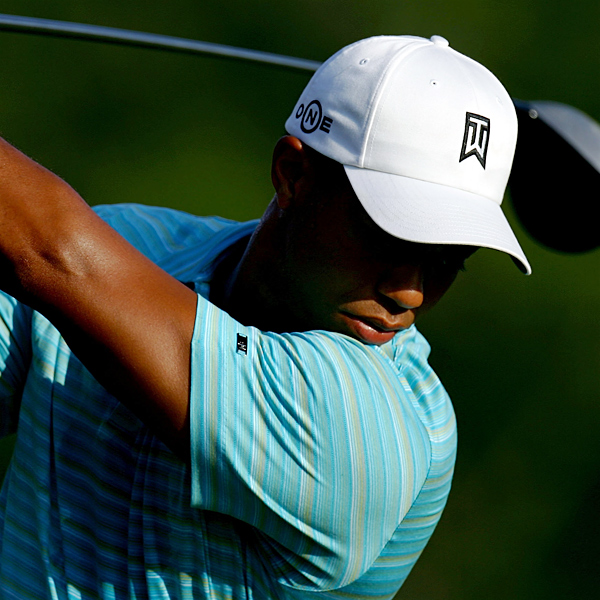 """I felt pretty good,"" Woods said. ""I hit the ball consistently all day, and I made three nice par putts there today."""