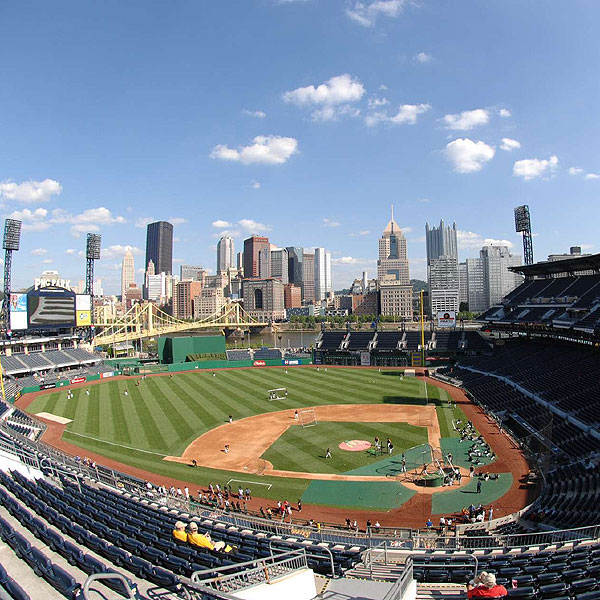 The Only Game in Town                     From the ballpark to the ER, all of Pittsburgh gave Oakmont and                     the Open it steeliest-eyed attention                                          PLACE Batting practice at PNC Park                     ADDRESS 115 Federal St., Pittsburgh