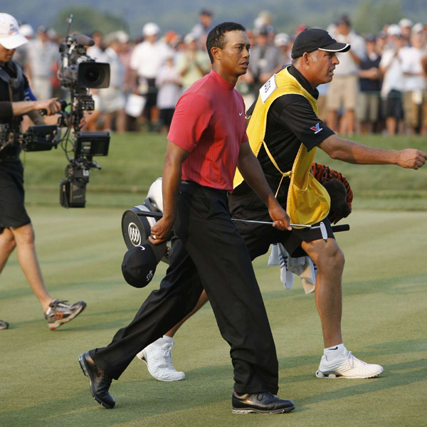 """My last four majors, I've (finished) 1, 1, 2, 2; not terrible, but could have been a little bit better,"" Woods said."