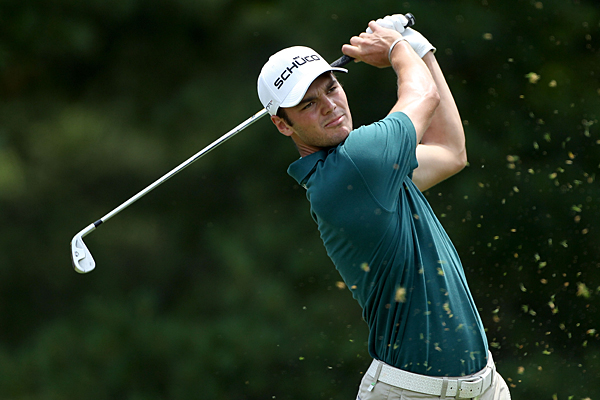 Martin Kaymer is three over after Saturday's 72.