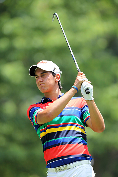 Matteo Manassero is six over for the tournament.