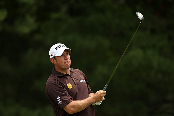 Lee Westwood tied the low round of the tournament with a 65 on Saturday.