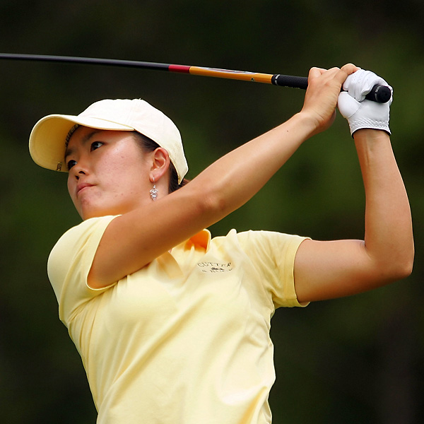 Angela Park followed her first-round 66 with an even-par 72. She is three back of Ochoa.