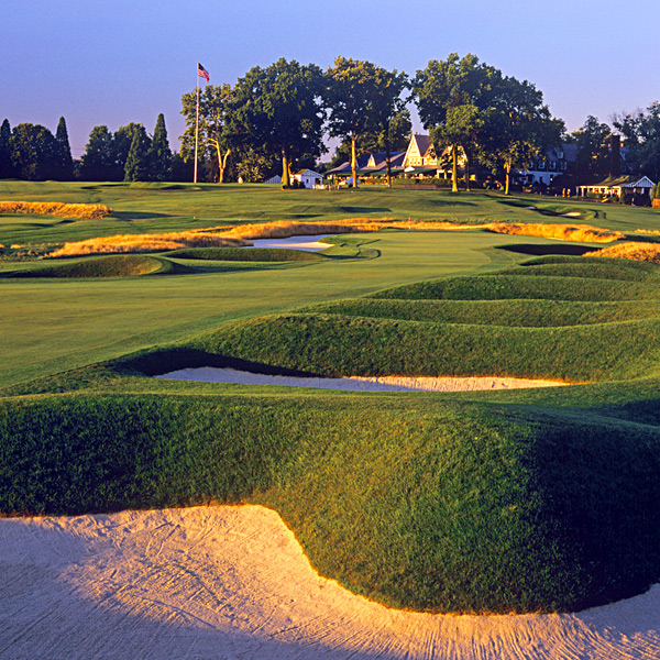 The Pittsburgh Stealer                                              There are no water hazards at Oakmont, no gaping carries, no 10-foot-deep bunkers and, now, virtually no trees. How, then, does it play so tough? We've profiled five shots that help answer that question — and a 10-handicapper just like you describes how he fared when he faced these kneeknockers (hint: not well).