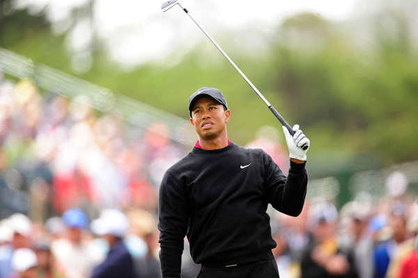 never got in the hunt. Woods made six bogeys and two birdies to tie for fourth.