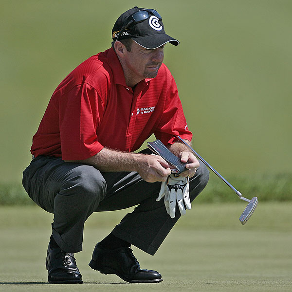 Rod Pampling finished at four under par, four strokes off the lead.