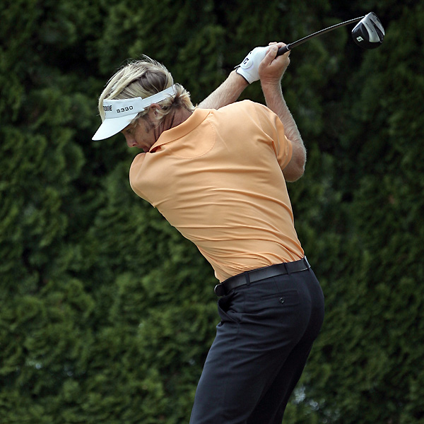 Stuart Appleby also missed the cut by going double bogey, bogey, bogey over his final three holes to shoot 74.