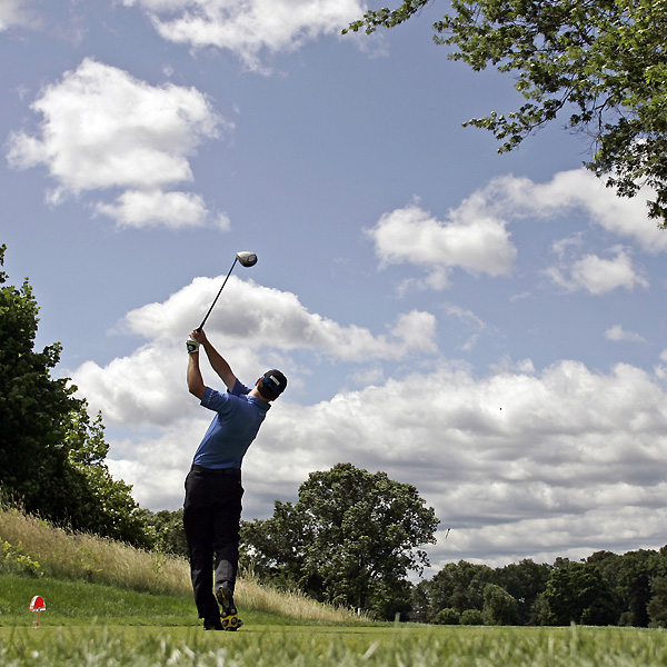 Zach Johnson, a two-time winner this season, shot rounds of 71-74 and missed the cut.