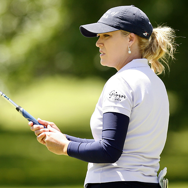 Christie Kerr also shot a 41 on the back nine, and she finished at three under.